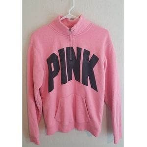 Victoria's secret pink xs quarter zip sweatshirt